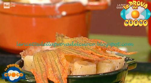 Cacio e pepe con fiori di zucca ricetta Erny Lombardo