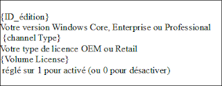 Paramétrer Le fichier EI.cfg Windows 8