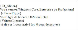 Paramétrer Le fichier EI.cfg Windows 8
