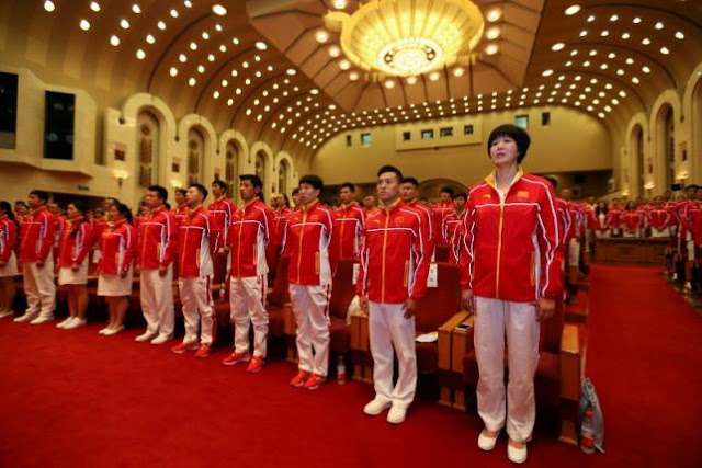 Olympics 2016 All Athletes From China