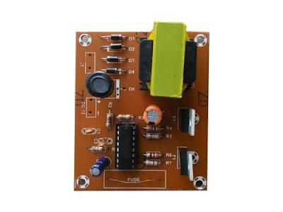 12v CFL Inverter circuit board Kitszone.com