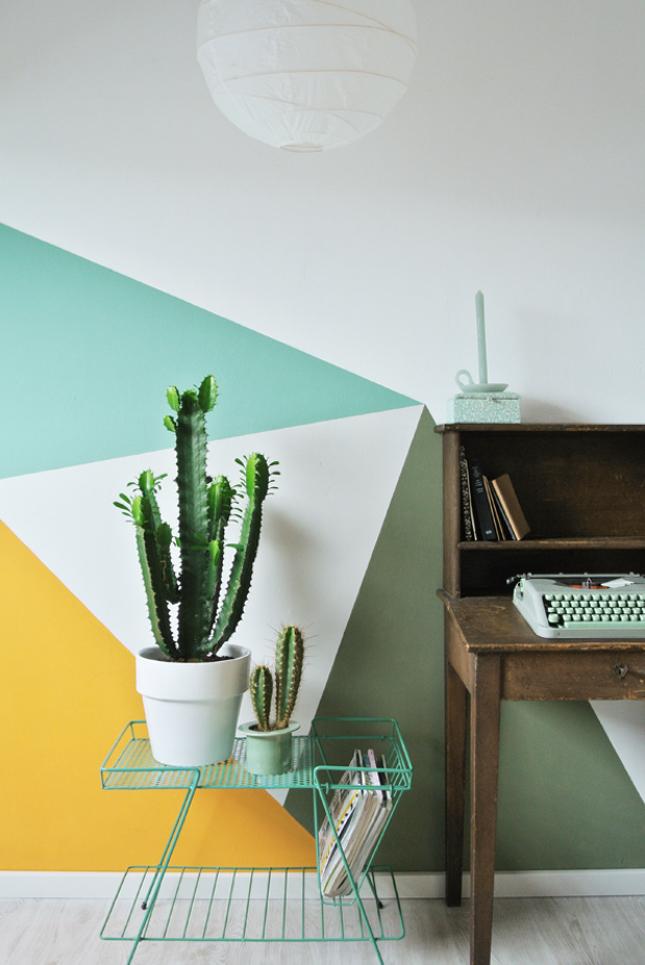 Pintura-geométrica-na-parede