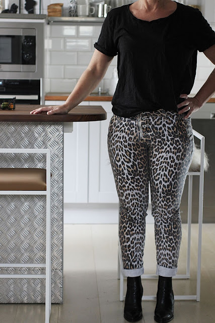 annelies design, webbutik, webbutiker, webshop, nätbutik, kläder, leo, leopard, leopardmönstrad, leopardmönstrat, leopardmönstrade, byxa, byxor