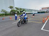 MPM Honda Jatim berikan Training Safety Riding Motor All New CB150R kepada Komunitas Honda CB150R
