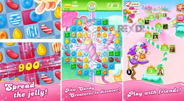 Candy Crush Jelly Saga 1.34.4 - Apk - Mod para Android – Desbloqueado