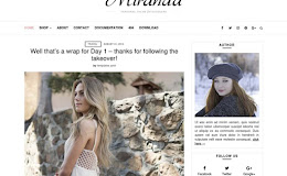 Miranda Simple blogger template