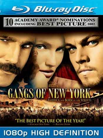 Gangs of New York 2002 REMASTERED 480p 500MB BRRip Dual Audio