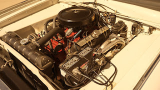 1966 Dodge D-Dart GT Sports Coupe Engine 02