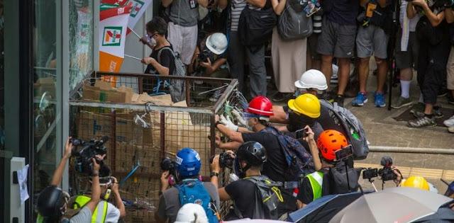 China warns Hong Kong