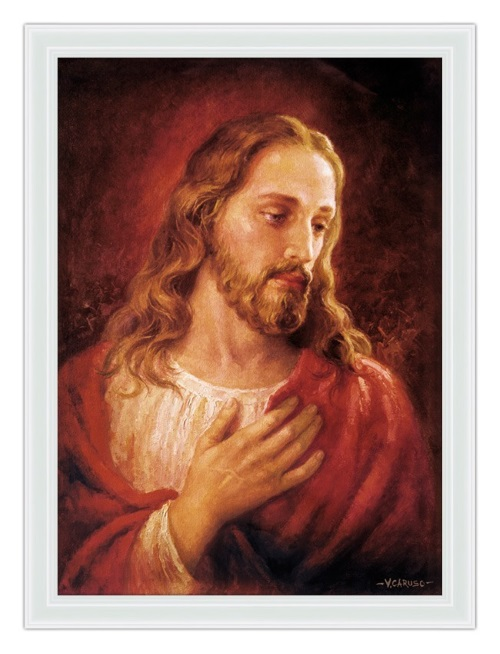 Complascência de Jesus. #PraCegoVer
