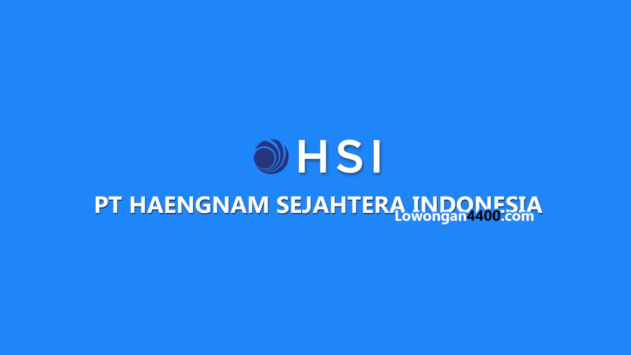 PT. Haeng Nam Sejahtera Indonesia Bogor