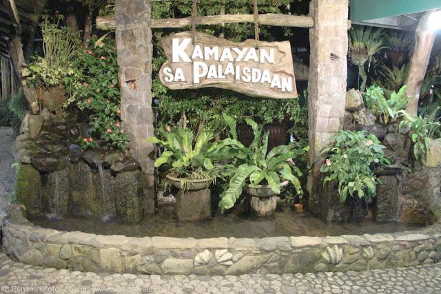 Kamayan sa Palaisdaan in Tayabas, Quezon