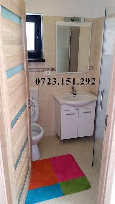 toaleta viu colorata vesela Casa la cheie. Constructii Constanta. Piscina Foisor, Case la rosu. Judetul Constanta