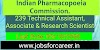 Indian Pharmacopoeia Commission Recruitment 2020 : Apply Online For 239 Vacancy(Contractual basis)