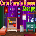 Games4King Cute Purple House Escape