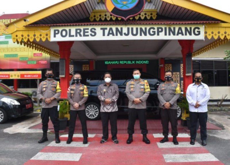 Bahtiar Koordinasi ke KPU Kepri dan Kapolres Tanjungpinang untuk Sukeskan Pilkada 2020
