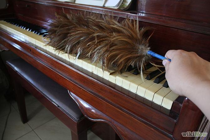 Cách vệ sinh đàn Piano dựa trên chất phủ vỏ đàn