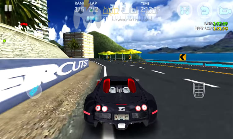 تحميل لعبة City Racing 3d مضغوطة من ميديا فاير
