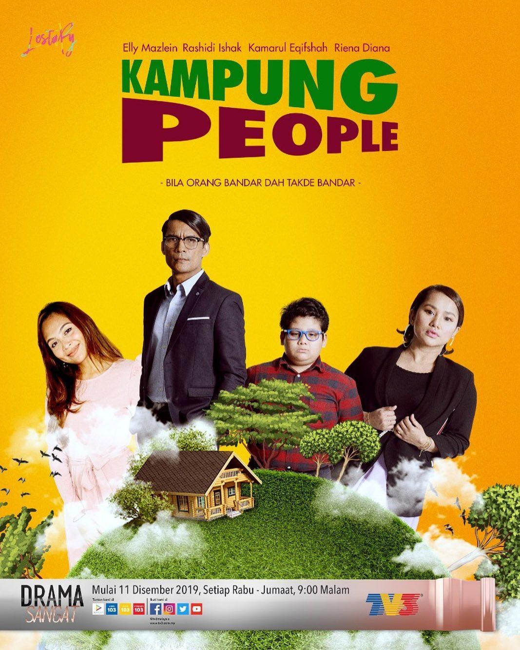 Drama Kampung People tv3