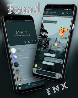 Landscape Theme For YOWhatsApp & Fouad WhatsApp By Ave fénix