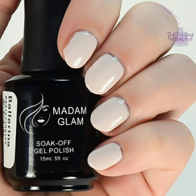 madam glam ballerina swatch