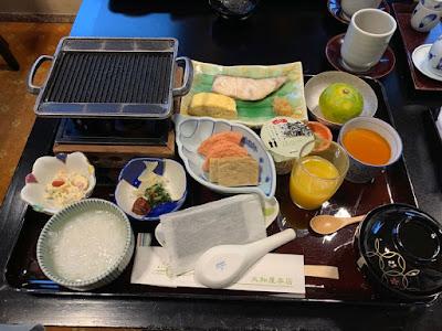 大和屋本店 朝食