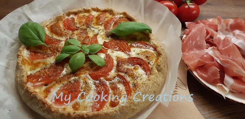 Солена тарта Капрезе * Crostata caprese
