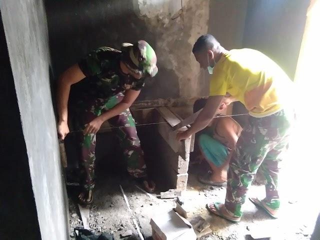 Kapendam Jaya: Alamsyah Kembali Dapat Kejutan dari Satgas TMMD 107 Kodim 0508/Depok