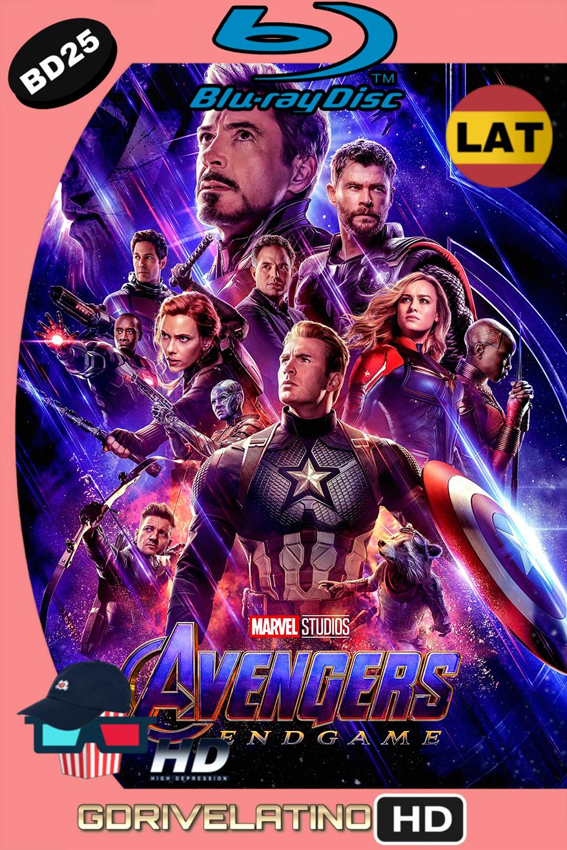 Avengers: Endgame (2019) BD25 (Latino-Inglés) ISO