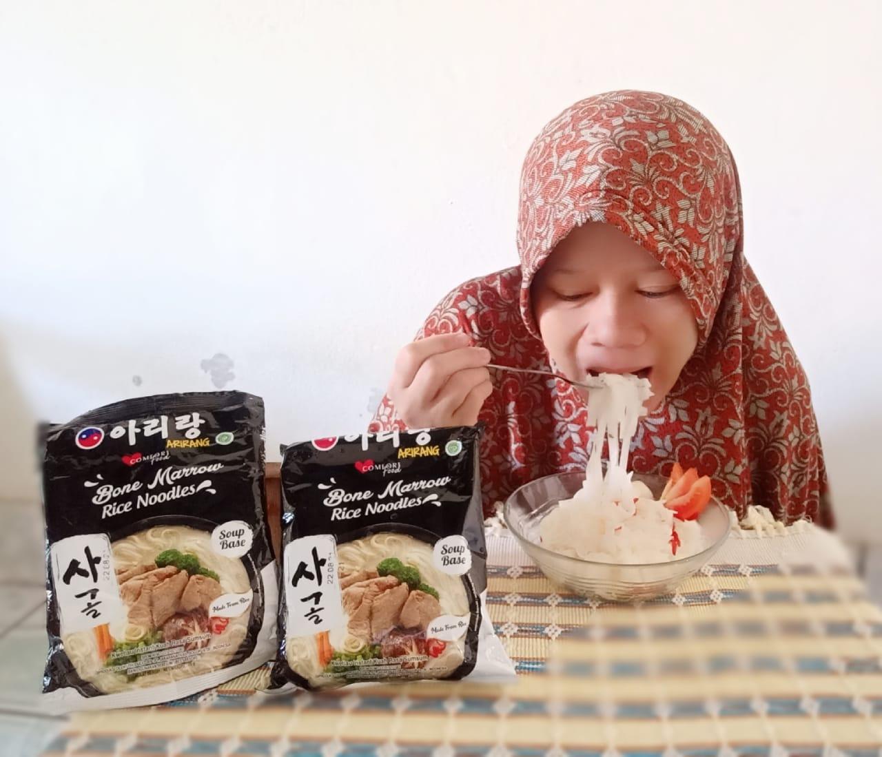 Mie halal Korea, Arirang