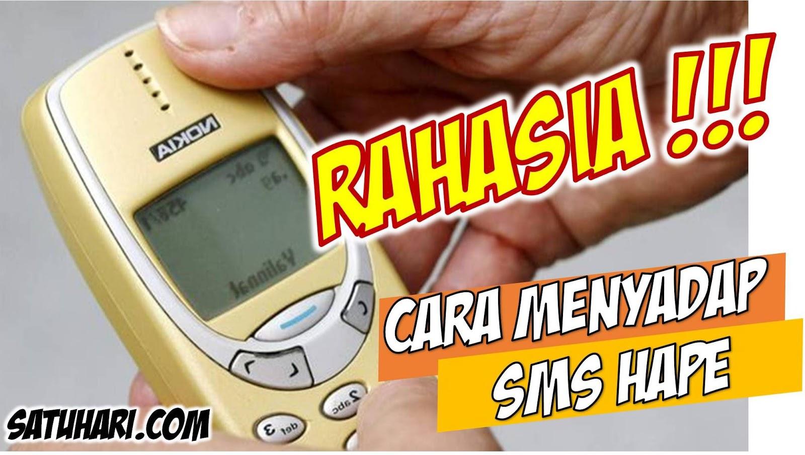 √⊕ [RAHASIA] 4+ Cara Menyadap SMS Masuk dan Keluar Semua Handphone