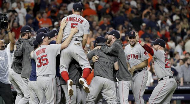 Boston vence a los campeones de Houston y van a la Serie Mundial