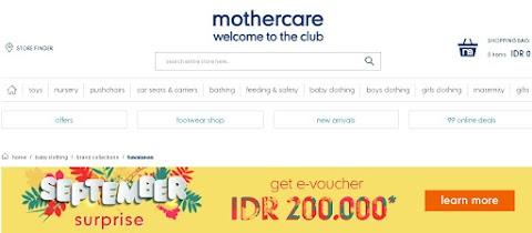 Mothercare dan Elc, Sahabat Ibu serta Anak Area  Yogyakarta dan Sekitarnya