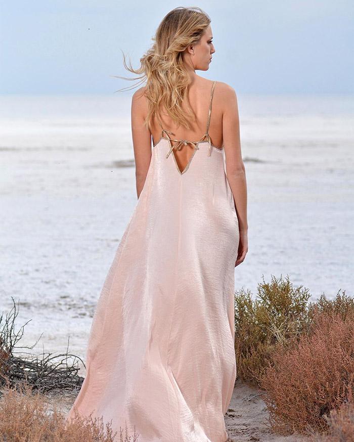 vestidos largos de fiesta playa 2020.