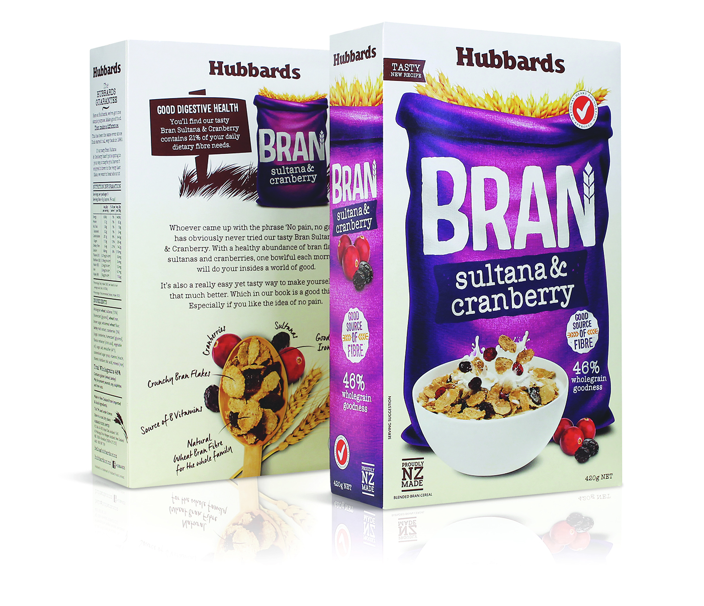 Hubbards Bran Cereal (Redesigned) on Packaging of the World