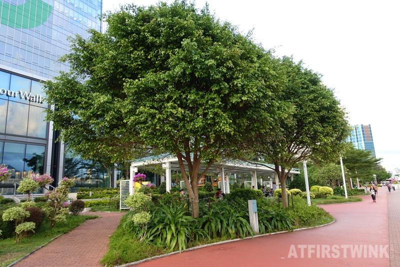 Kowloon Harbourfront hotel Hong Kong rain shelter tsim sha tsui promenade