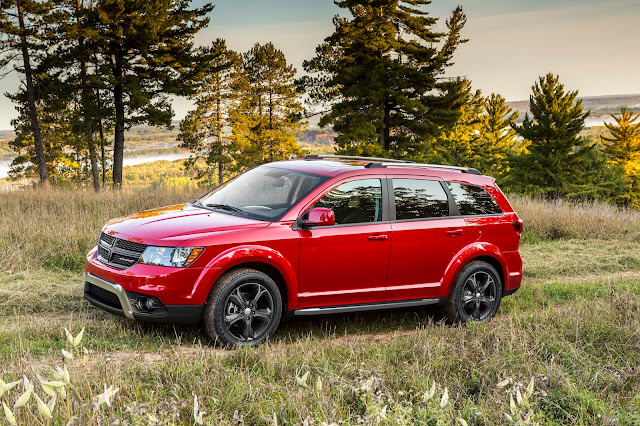 2015 Dodge Journey red off-road