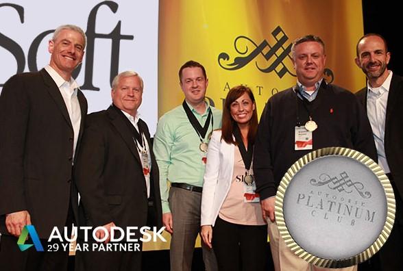 ProSoft Autodesk Partner Platinum Club