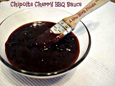 Chipotle-Cherry Barbecue Sauce | A New York Foodie