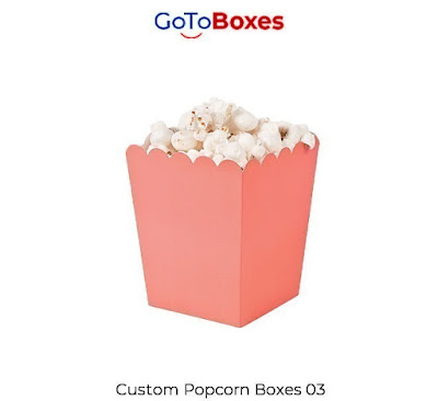 Popcorns are delightedly enjoyed and favored among people of all ages and classes. People love to have popcorns while seeing their main games facilitate or a film in the cinemas or even in a family gathering. Popcorn Boxes are easy and worthwhile to carry and handle. They can be altered in plentiful assortments