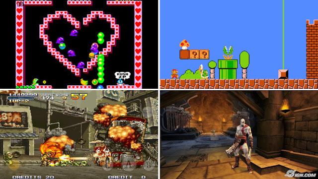 Videogames on Recalbox