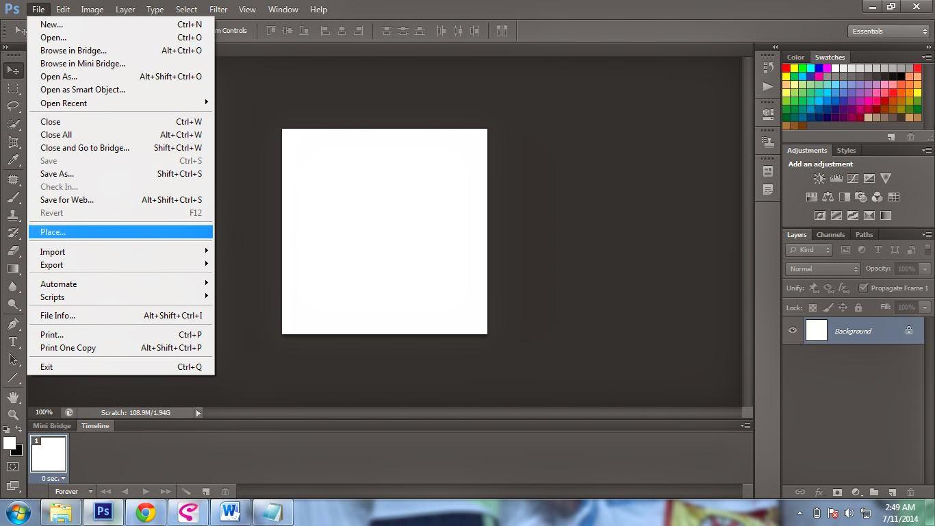 Cara Membuat Animasi Untuk DP BBM Dengan Photoshop Yoko Cools Blog
