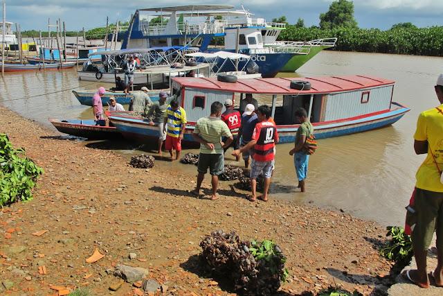 Porto dos Tatus, no Delta do Parnaíba