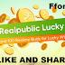 Realpublic Lucky Bag Win Realme U1 Phone & 100 Earpbuds