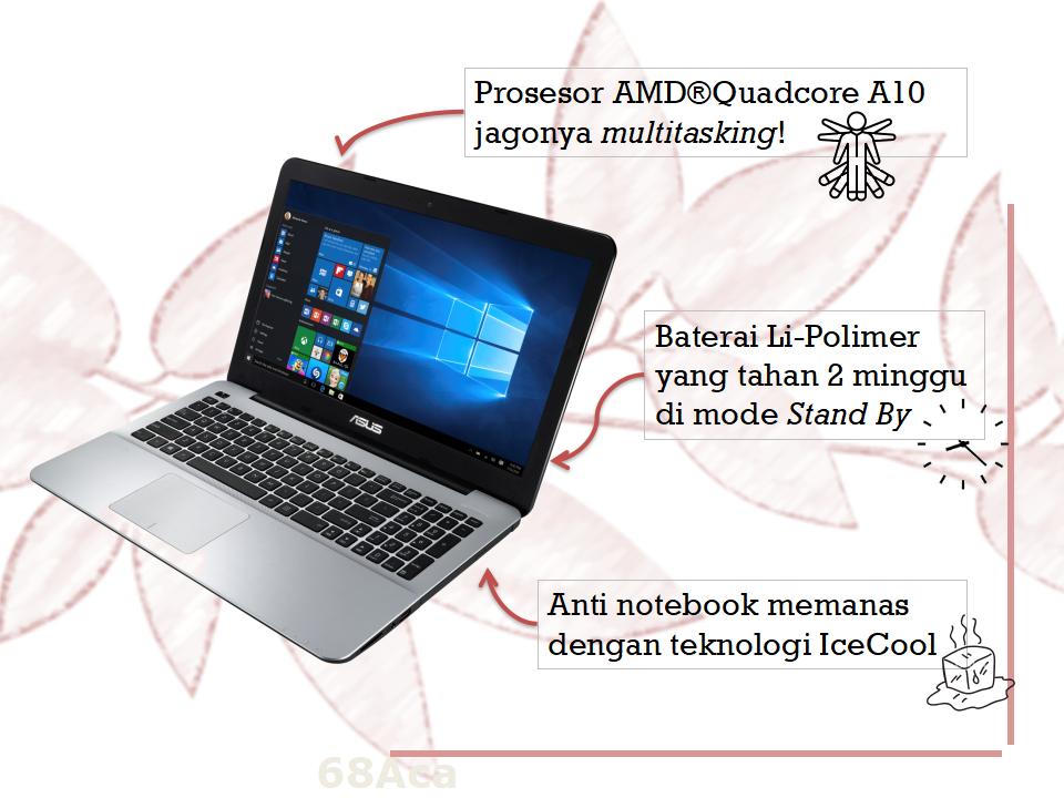 Keunggulan Notebook ASUS X Series