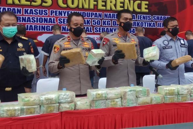 Bandar Narkoba yang Ditangkap di Bajoe Bawa 7 Karung Sabu Seberat 89 Kg