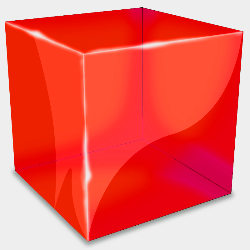 Psd Files Free Download: Photoshop 3D Cube, free psd file