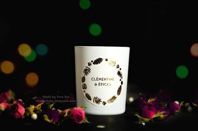 Parfyumirovannaya svecha Yves Rosher Clementine & Epices (Pryanyiy mandarin) iz novogodney limitirovannoy kollektsii, обзор, отзыв, review
