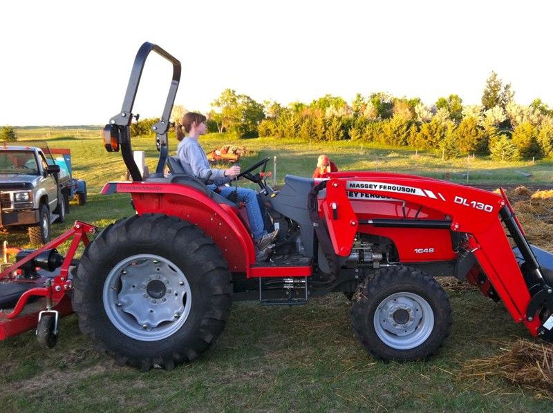 Bear Butte Gardens BLOG: Red Tractor