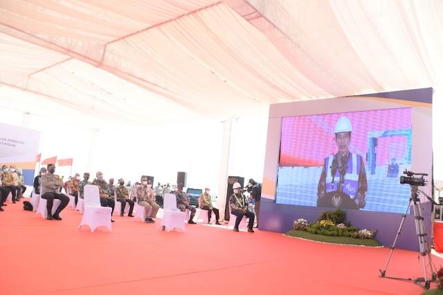 Presiden RI Soft Launching Pelabuhan Internasional Patimban Subang